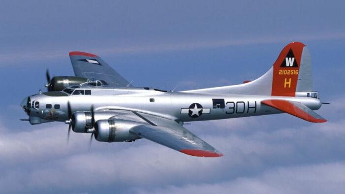 B-17 coming to Muskegon