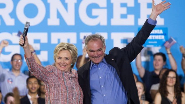 Clinton Selects Tim Kaine, Popular Senator From a Swing State, as Running Mate