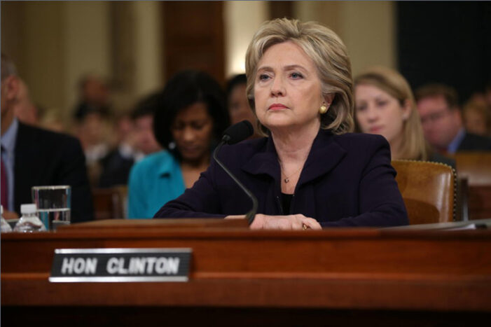 GOP Seeks Criminal Inquiry of Hillary Clinton's Testimony to Congress