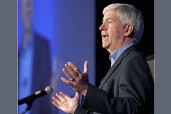 Gov. Snyder issues statement on Michigan's unemployment drop