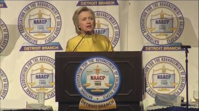 'Madness Has to Stop,' Hillary Clinton Declares at NAACP Conference