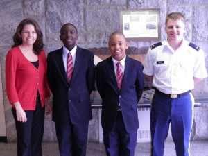 The reading and math program founded by the Muskegon Tribune Publisher was invited to the U.S. Military Academy at West Point to participate in a STEM program, the only after-school program in the country to receive such honor