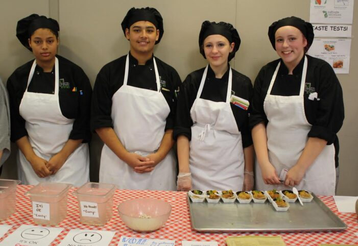 Culinary students pick, prepare, and prove pumpkin is not just for pies