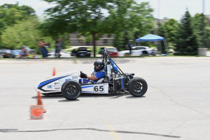 GVSU students showcase vehicle at Michigan International Auto Show