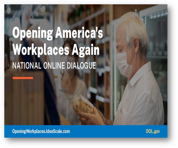 Opening America's Workplaces Again National Online Dialogue