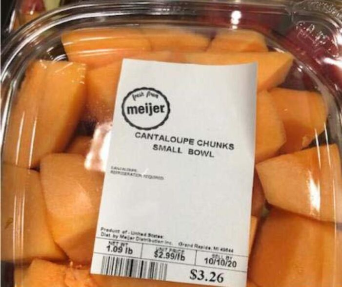 Meijer Recalls Whole Cantaloupes and Select Cut Cantaloupe Trays Due to Potential Health Risk