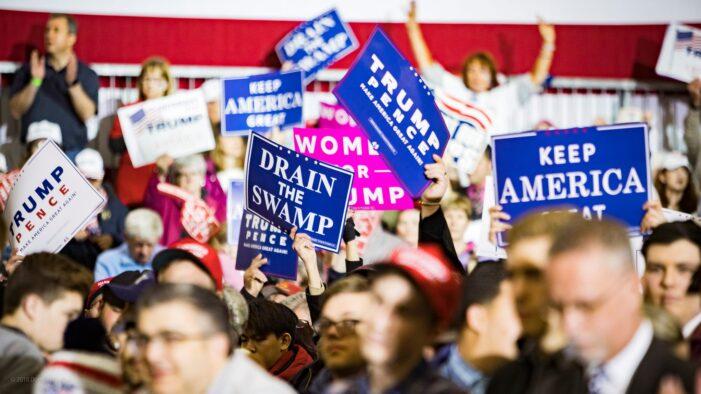 President Trump draws thousands to Muskegon rally