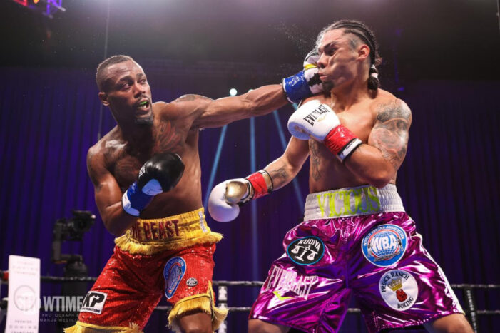 """Ra'eese """"The Beast"""" Aleem Scores Technical Knockout Over Victor Pasillas in Co-Main Event on SHOWTIME"""