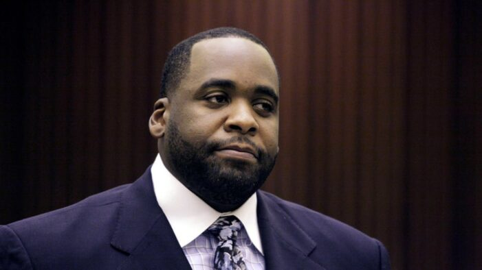 Reports: Kwame Kilpatrick to be released from prison