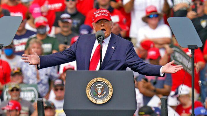 Trump to make three Michigan stops in campaign homestretch