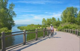 Muskegon's Lakeshore Trail Reopens