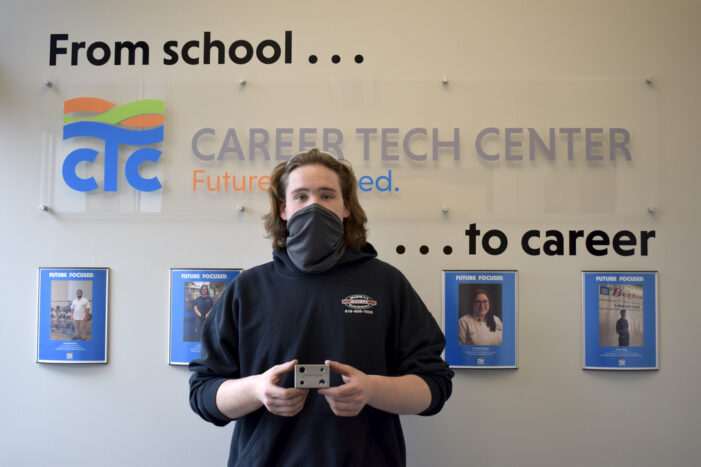 Career Tech Center student named Top Dog in Ferris State competition